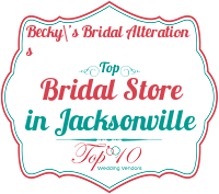 becky\'s bridal alterations best wedding gowns jacksonville fl