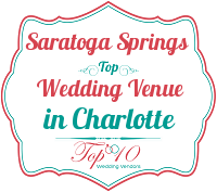 saratoga springs best garden wedding venues in charlotte nc