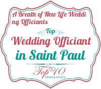 a breath of new life wedding officiants best marriage minister saint paul