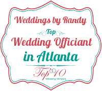weddings by randy top officiant for wedding ceremony in atlanta